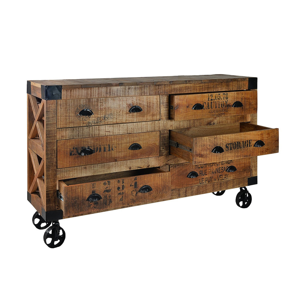 Rustic Chest Of Drawers, Large