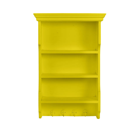 3 Tiered Yellow Shelf