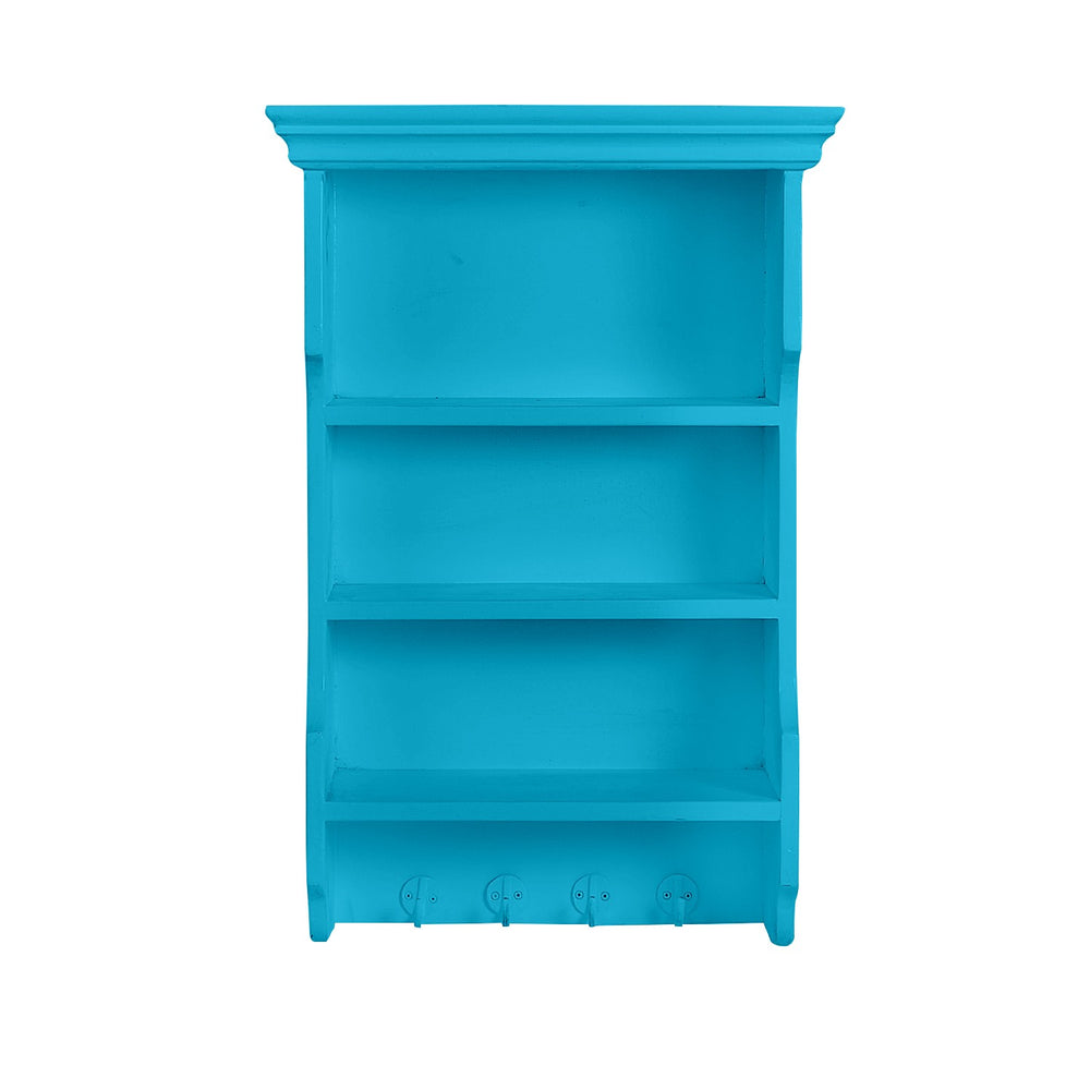 3 Tiered Blue Shelf