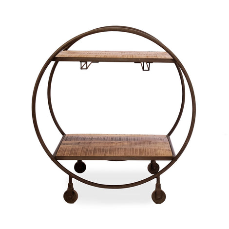 Round Serving Trolley
