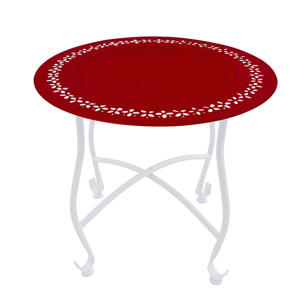 Moroccan Table: Red