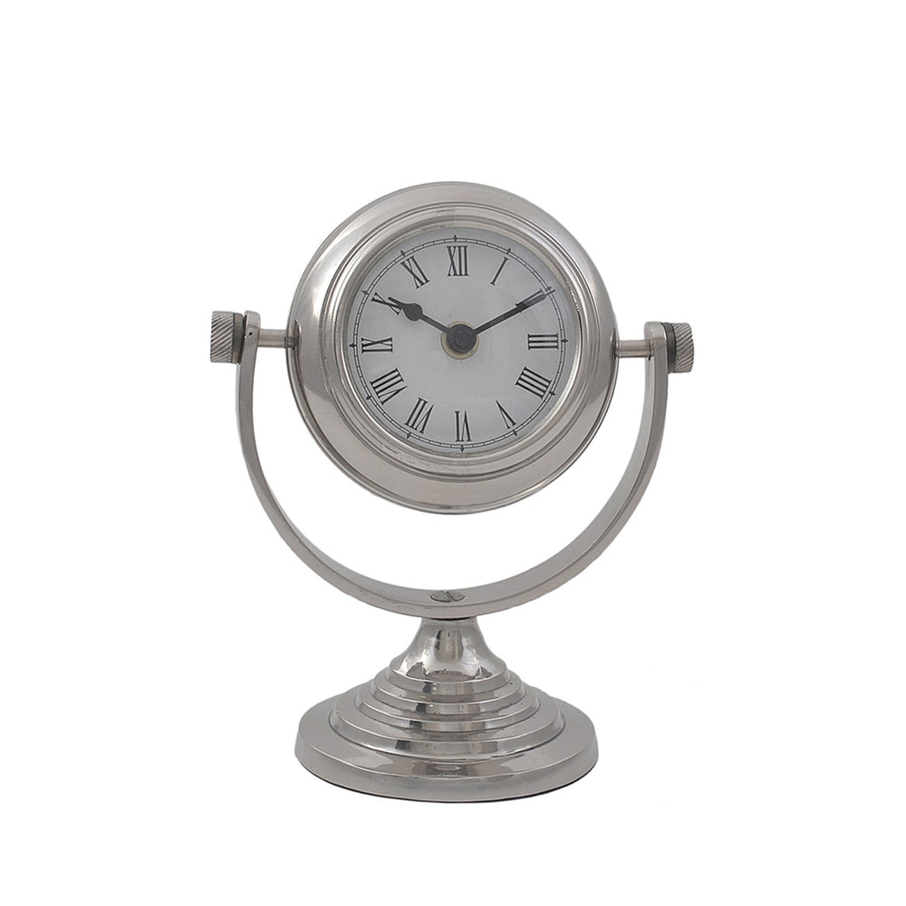 Stainless Steel Table Clock