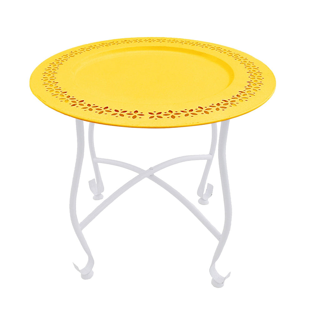 Moroccan Table: Yellow