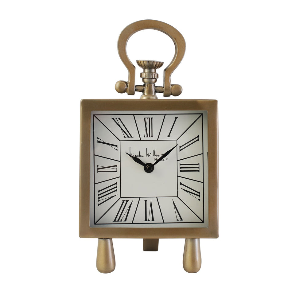 Mantle Piece Gold Clock
