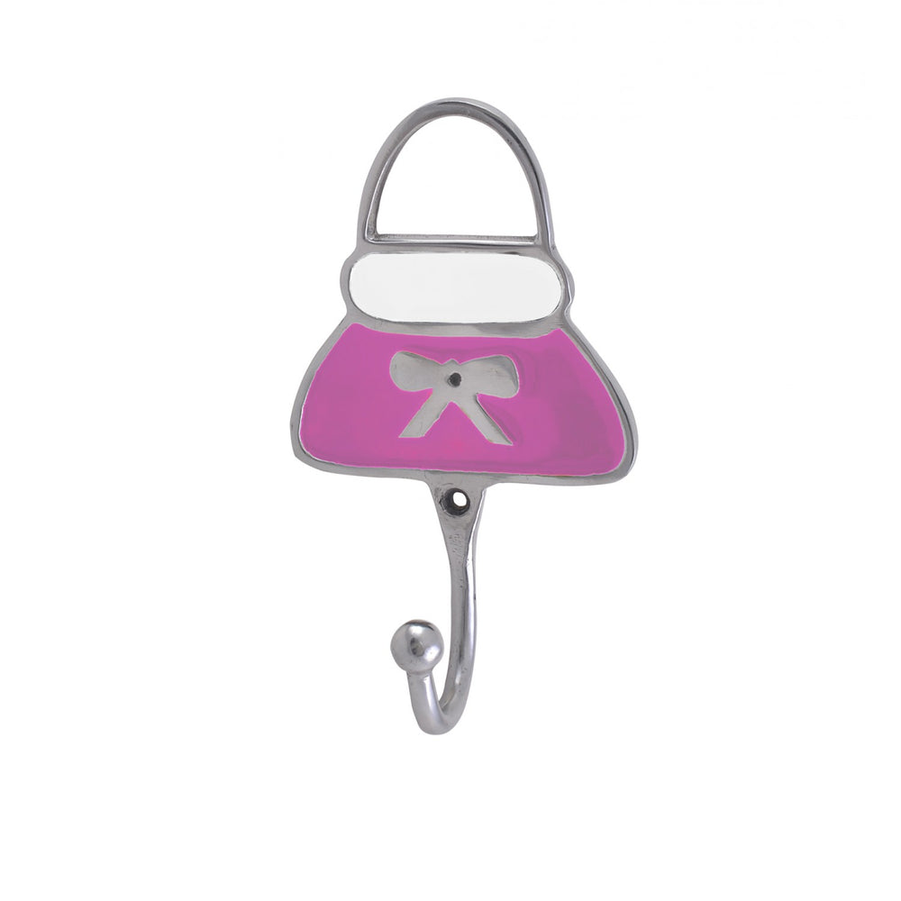 Pink Purse Hooks (Set Of 2)