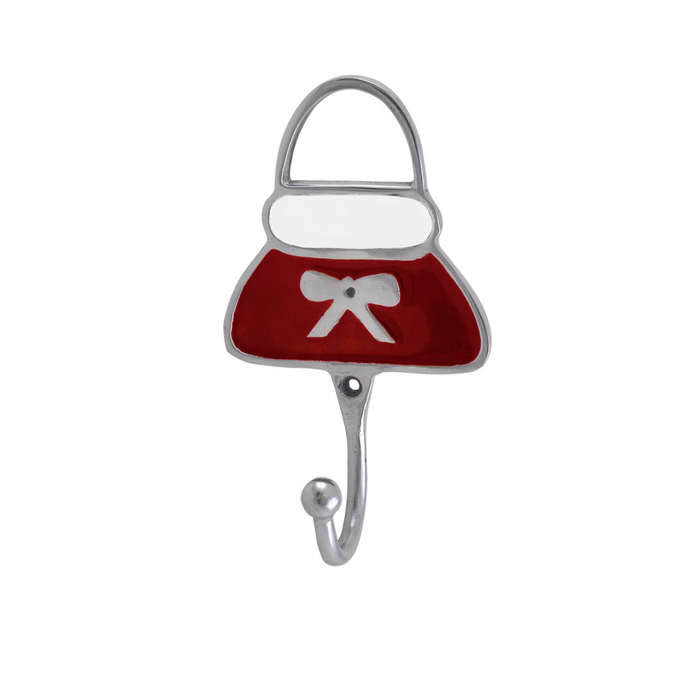 Red Purse Hooks (Set Of 2)