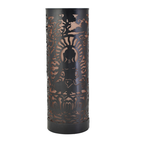 Buddha Large Table Lamp: Black