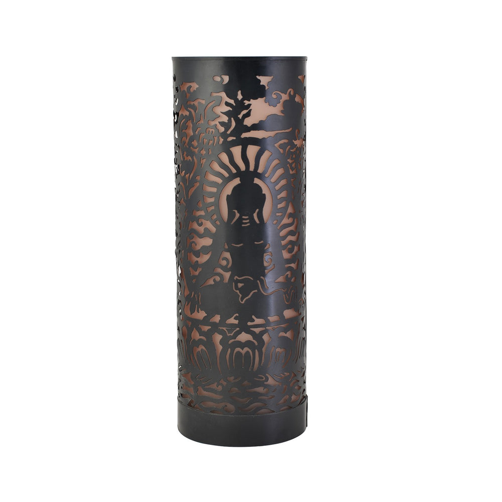 Buddha Small Table Lamp: Black