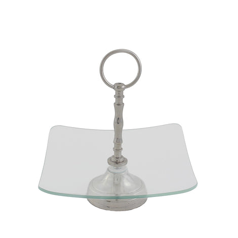 Square Glass Platter