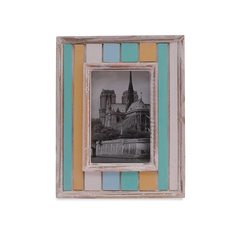 Wooden Antique Painted Photo Frames, 4 X 6