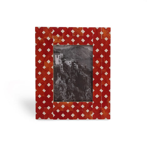 Bright Red Photo Frame, 5 X 7