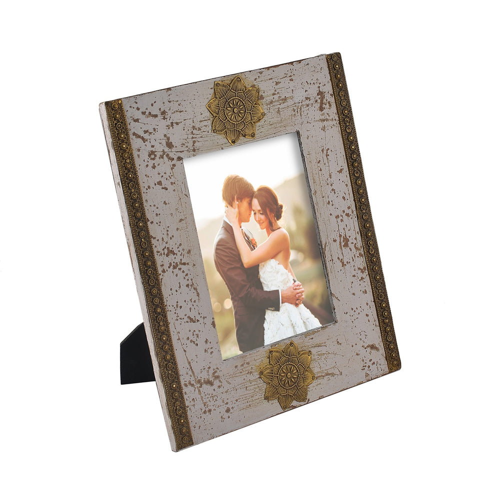 Brass Detailing Photo Frame, 5 X 7