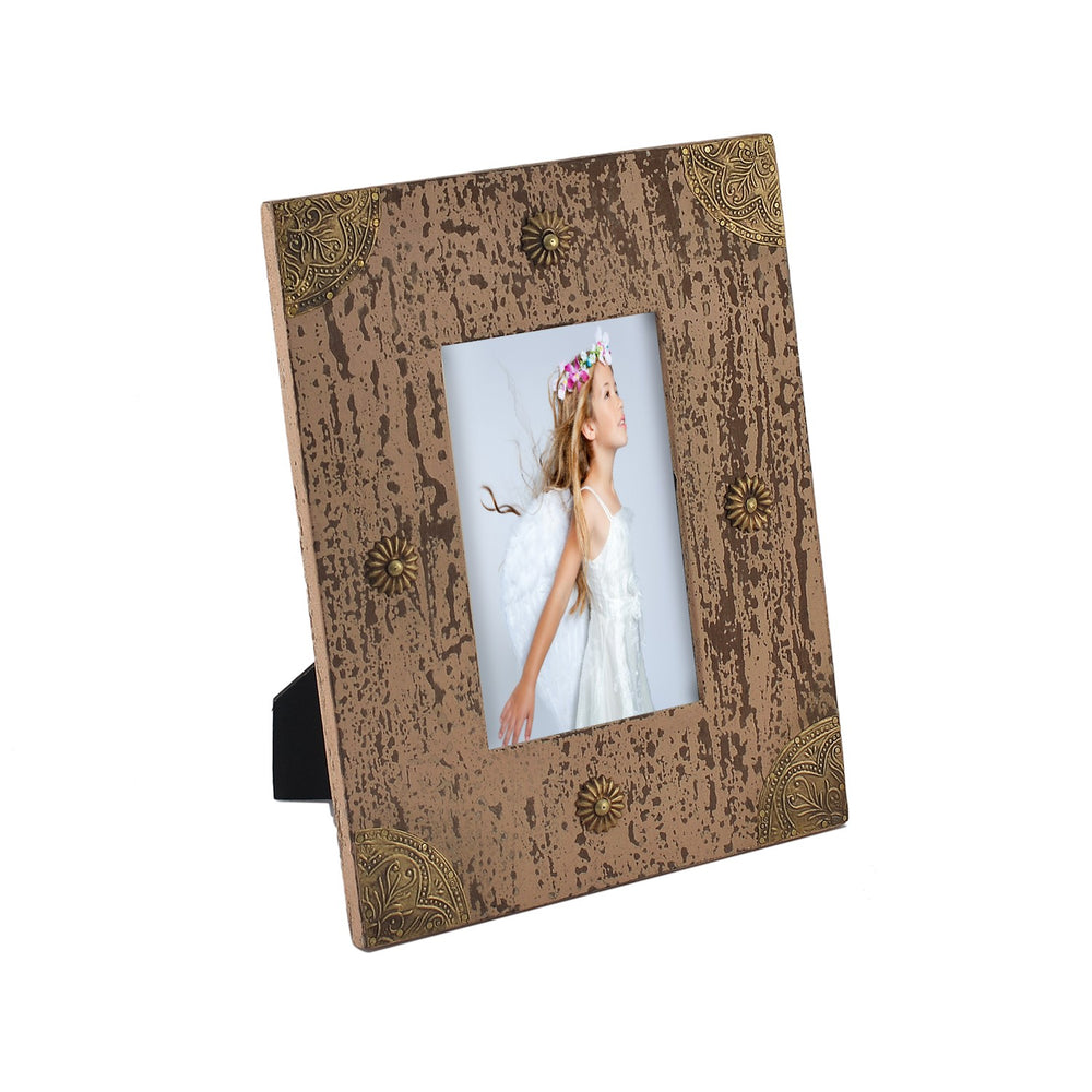 Distressed Pink Photo Frame, 4 X 6