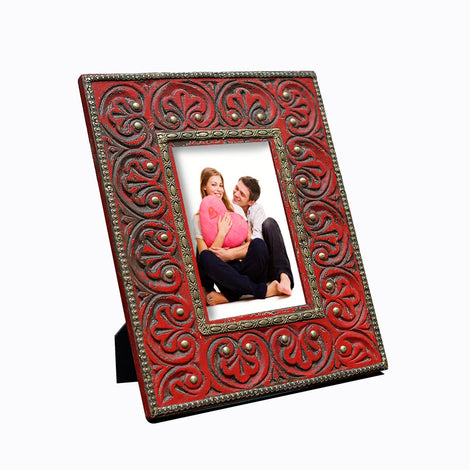 Red Photo Frame, 4 X 6