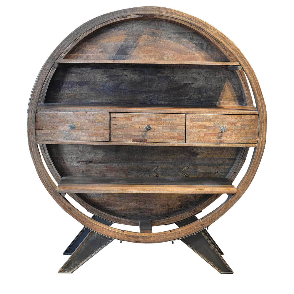 Venn Bar Storage Cabinet