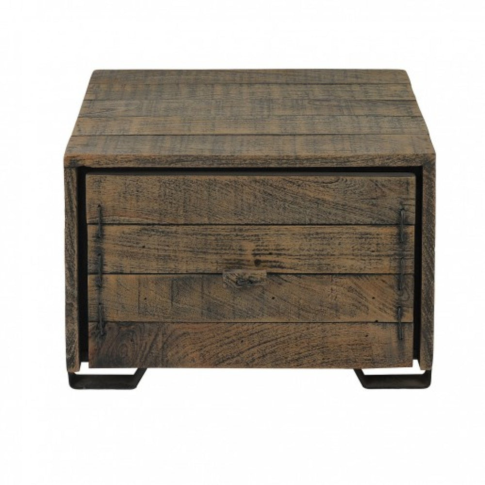 Woodworm Side Table