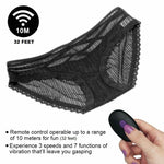 Rechargeable Wireless Remote Control Vibrating Lace Panties Toys for Couples - Sinful Sensual Dimensions