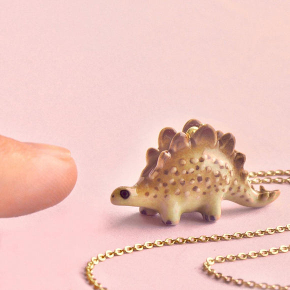 Stegosaurus Necklace -  Camp Hollow