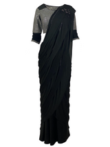 ROMA STITCHED SAREE - Leharr Collection