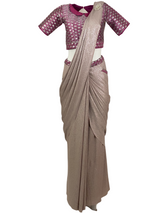 SOHINI STITCHED SARI - Leharr Collection
