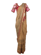 THE MELANGE SAREE SET