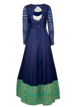 THE LAPIS ANARKALI GOWN