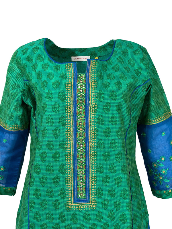 BLUE JADE SALWAR SUIT