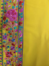 TURMERIC SUNRISE ANARKALI GOWN