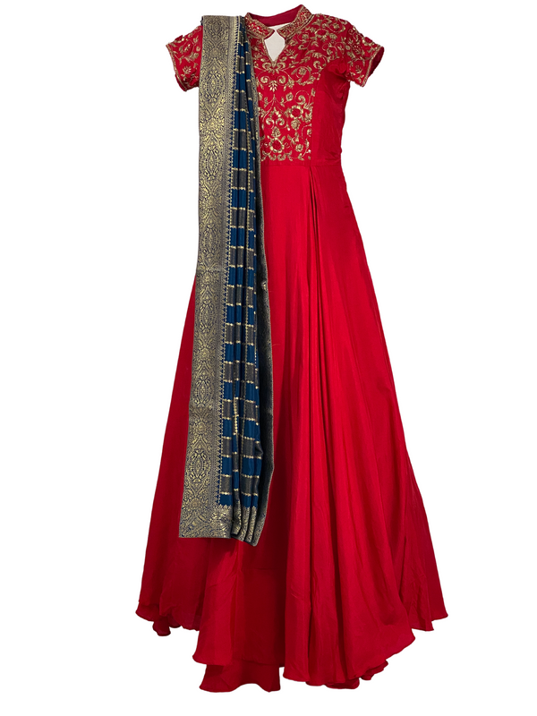 ZOYA ANARKALI GOWN - Leharr Collection