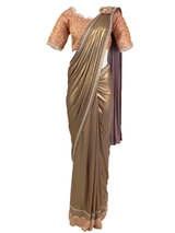 ROSIE STITCHED SARI - Leharr Collection