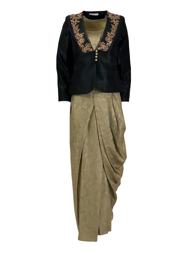 THE BELLE DHOTI SET