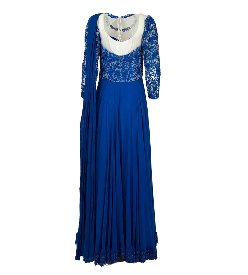 THE CALABASAS ANARKALI GOWN - Leharr Collection