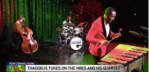 WATCH: Thaddeus Tukes and His Quartet on the Midday Fix