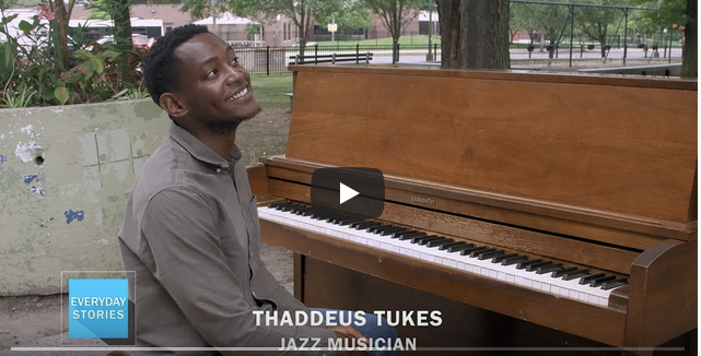 WATCH: Thaddeus Tukes with Piano in the Parks