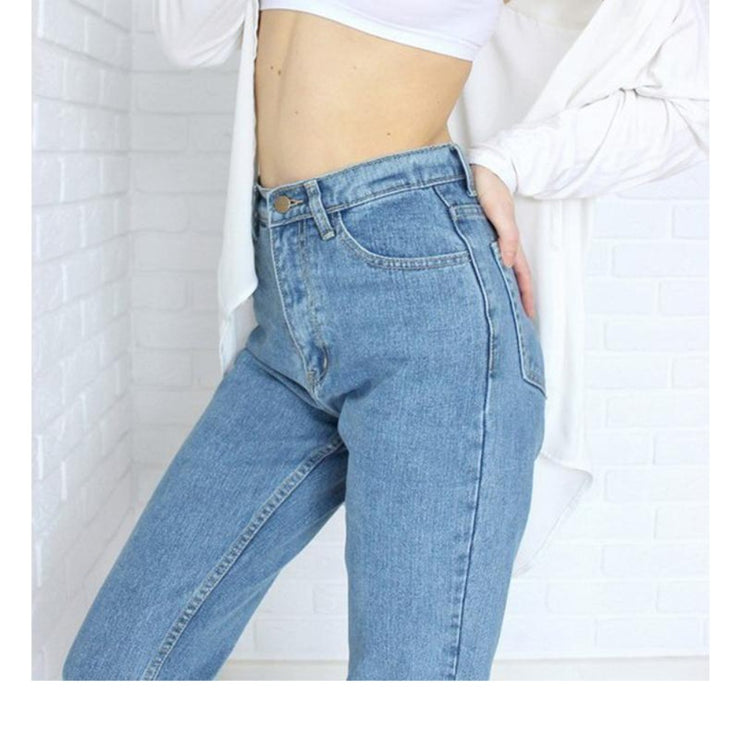 High Waisted Mom Jeans