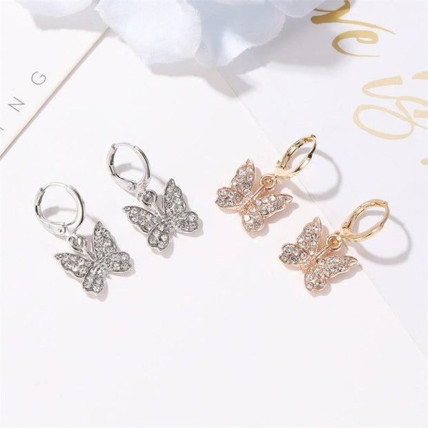 Butterfly Dangle Earrings