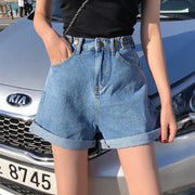 Wide Leg High Waisted Shorts