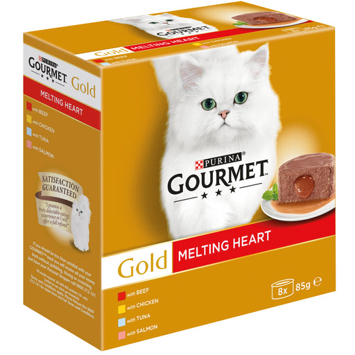 Gourmet Gold Melting Heart Meat&Fish 8x85g