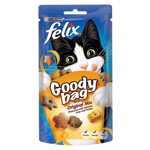 Felix Goody Bag Cat Treats 60g
