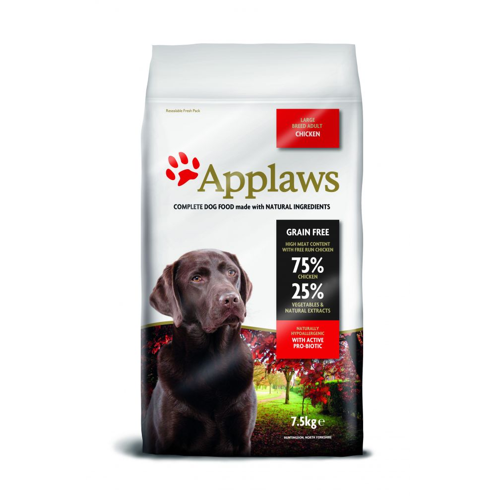 Applaws Chicken Large Breed Adult Dry Dog Food - 7.5kg