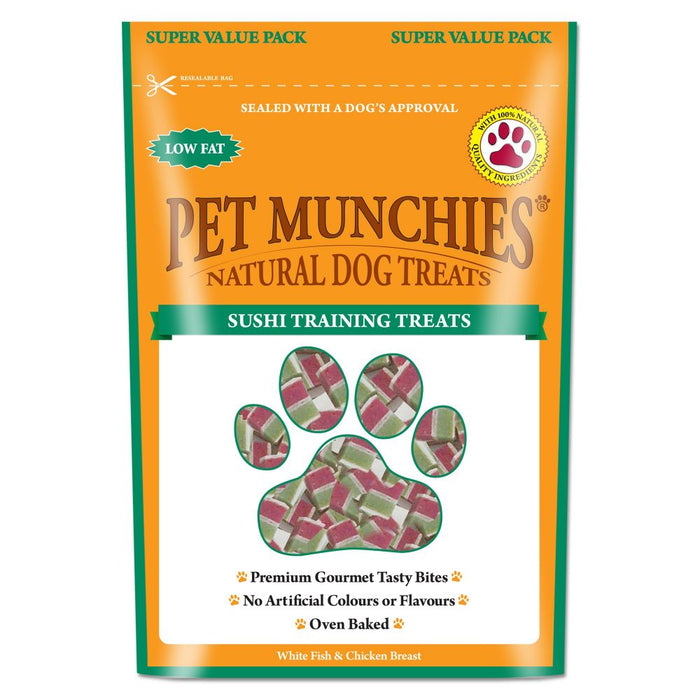 Pet Munchies Sushi Training Treats Natural Dog Treats - 150g