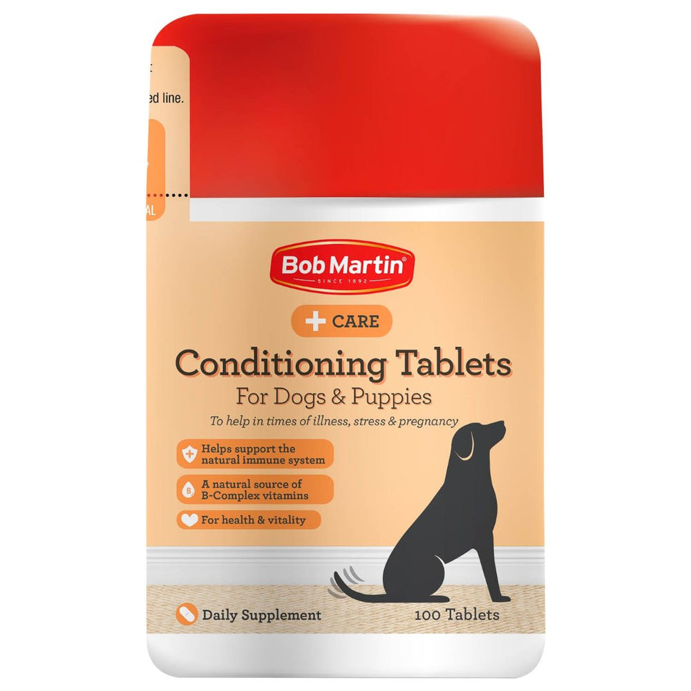 Bob Martin Delicious Dog Conditioning Tablets 100 Pack