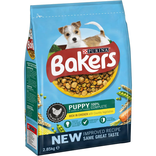 Bakers Puppy Food Chicken and Vegetable 2.85kg
