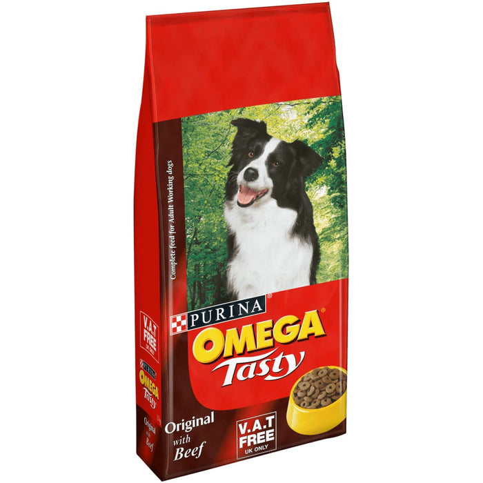 Omega Tasty Original Dry Dog Food 15kg
