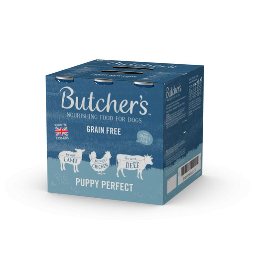Butchers Puppy Perfect Wet Dog Cans 18 x 400g