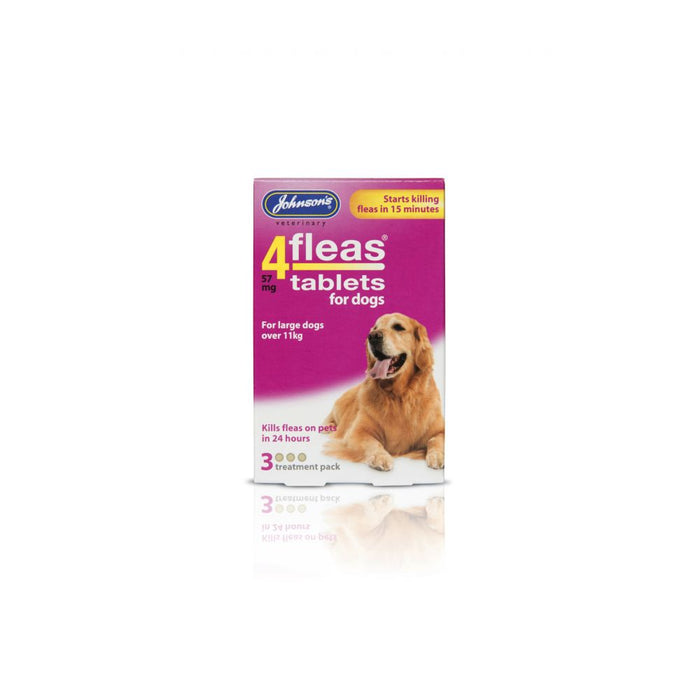 Johnsons 4fleas Large Dog Tabs