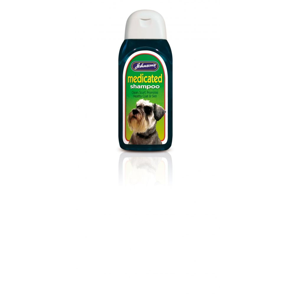 Johnsons Medicated Dog Shampoo
