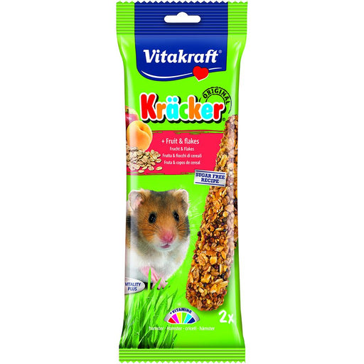 Vitakraft Kracker Fruit Flakes Hamster 2Pk