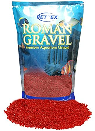 Aquatic Roman Gravel Rosso Red 2kg