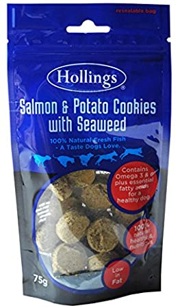Hollings Salmon Potato & Seaweed Cookies 75g